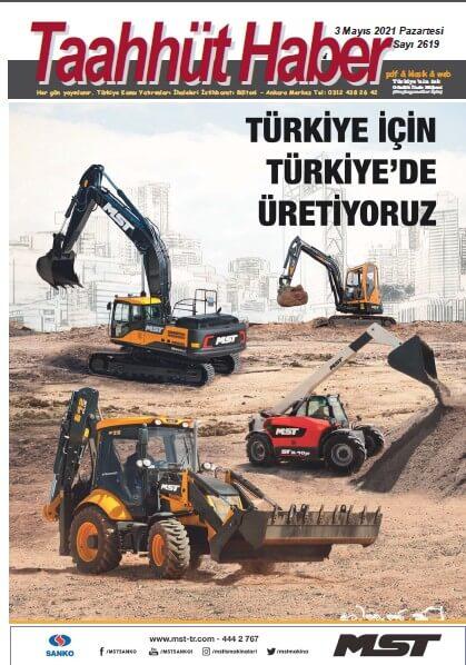 Taahhut Haber Kapak / 2619