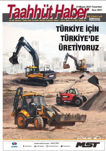Taahhut Haber Kapak / Sayı 2631