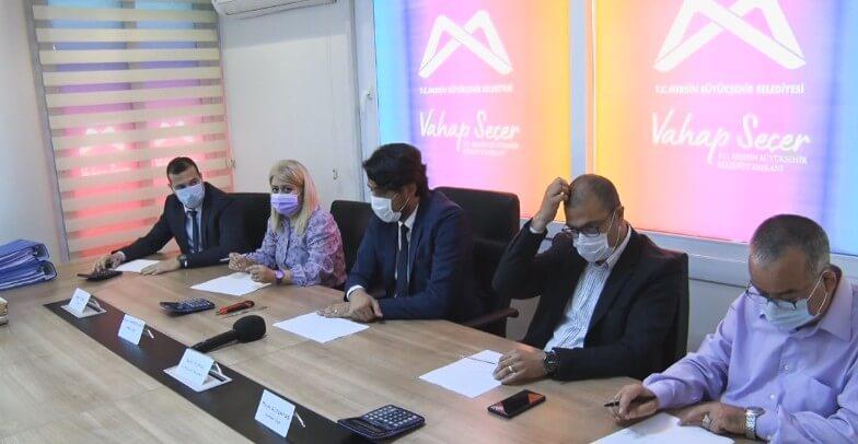 Mersin Mezitli - 3 Ocak Metrosu İhalesi Resmi