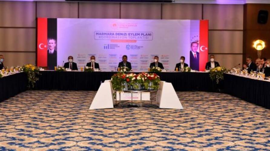 Marmara Denizi Eylem Planı toplantısı