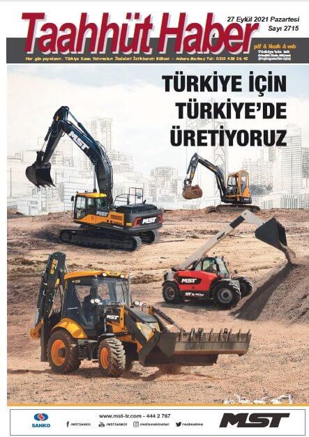 Taahhut Haber Kapak / Sayı 2715